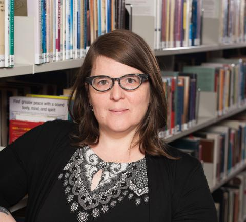 Schaumburg Library's Youth Department Director is the recipient of the ILA's Davis Cup Award.