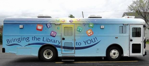 Gail Borden Library Bookmobile