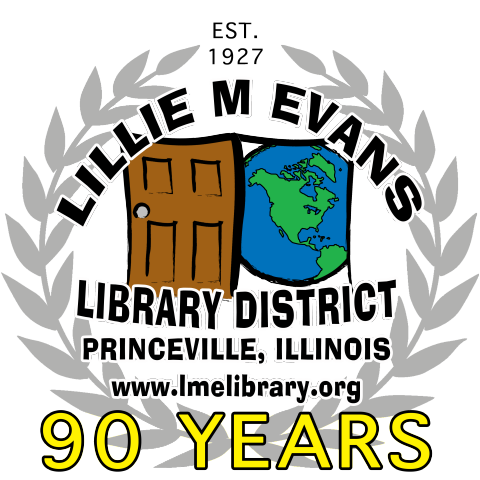 90th Anniversary logo for LME Library