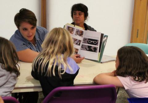 Race Conscious Readers workshop at Oak Park Public Library