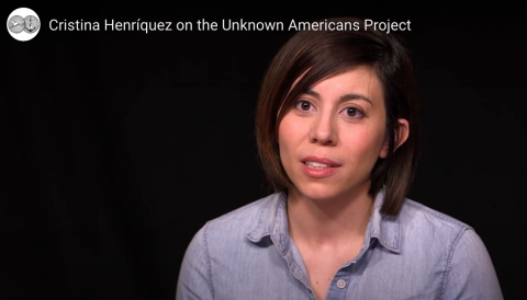 Cristina Henríquez, author of The Book of Unknown Americans