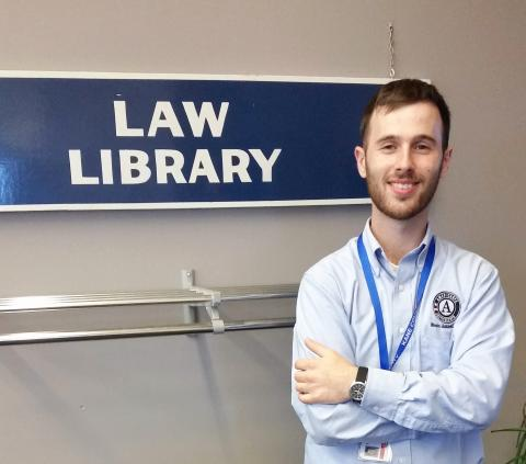 Illinois JusticeCorps Fellow, John O'Neill
