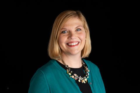 Schaumburg Library's new Executive Director, Annie Miskewitch