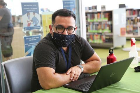 Miguel Ruiz, Supervising Librarian, Robert Crown Library Branch, Evanston Public Library