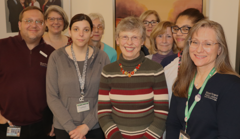 Mount Prospect Public Library staff recently celebrated staff who have worked at the library five to 30 years.