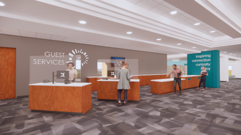 New Lobby rendering