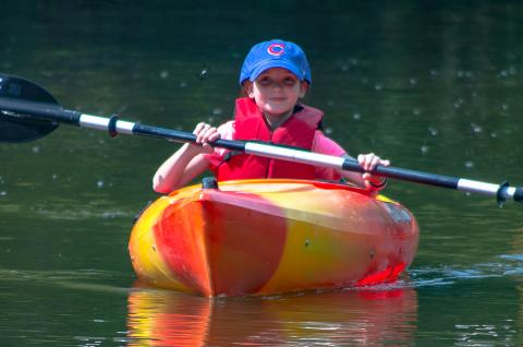 greater maywood paddling program kayak forest preserve district cook county