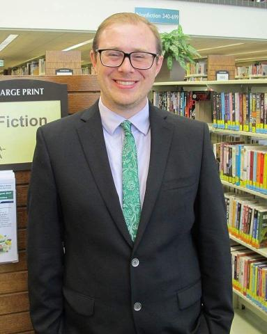 David Kelsey, St Charles Public Library