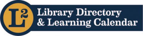 Library Directory & Learning Calendar.