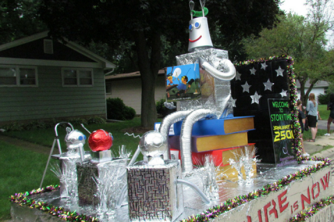 AAPLD 2016 Founders' Day Float