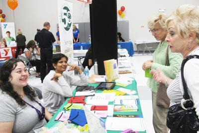 Wellness Fair at Schaumburg Township District Library