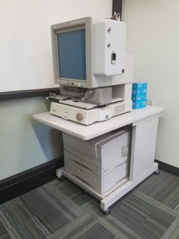 Canon microfilm/fiche scanner