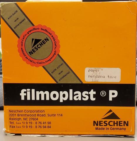 Filmoplast P Clear Repair Tape