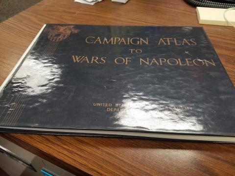 Campaign Atlas to Wars of Napoleon, United States Military Academy, Dept. of History, 1976