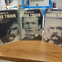 The 3-volume complete and authoritative edition of The Autobiography of Mark Twain