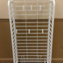White Wire Display Rack