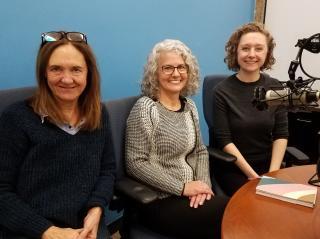Deirdre Brennan, Leila Heath, and Anna Behm.