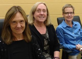 From left: Dee Brennan, Sylvia Norton, Megan Cusick