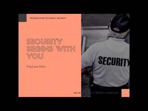 Introduction to Library Security (Part 1 of 2)