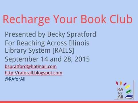 Recharge Your Book Club