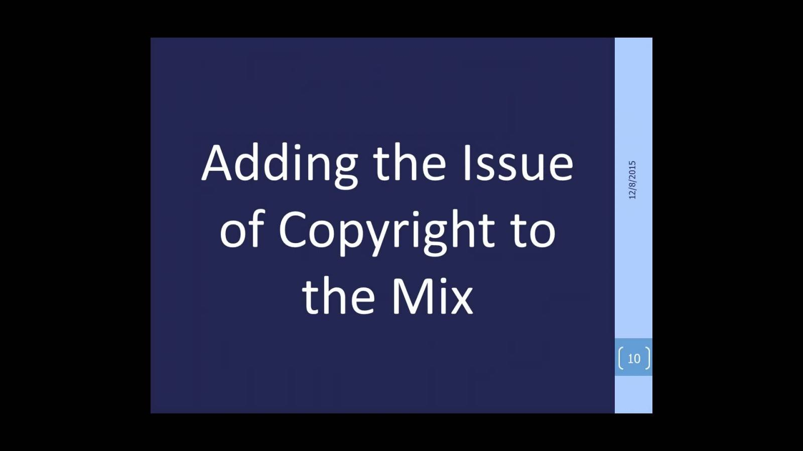 That Thorny Issue:  Copyright Basics and ILL