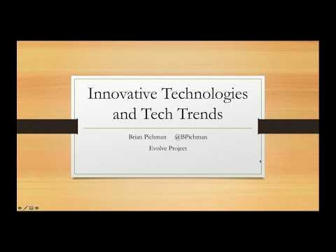 Innovative Technologies and Tech Trends