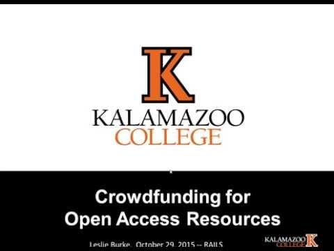 Crowdfunding for Open Access E-Resources