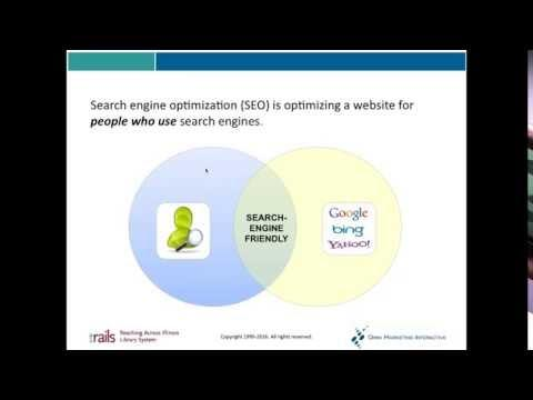 Search Engine Optimization for Libraries: Part 5: Digital Content Assets