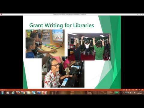 2016 01 20 14 03 Grant Writing