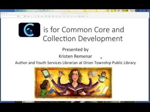 C is for Common Core and Collection Development