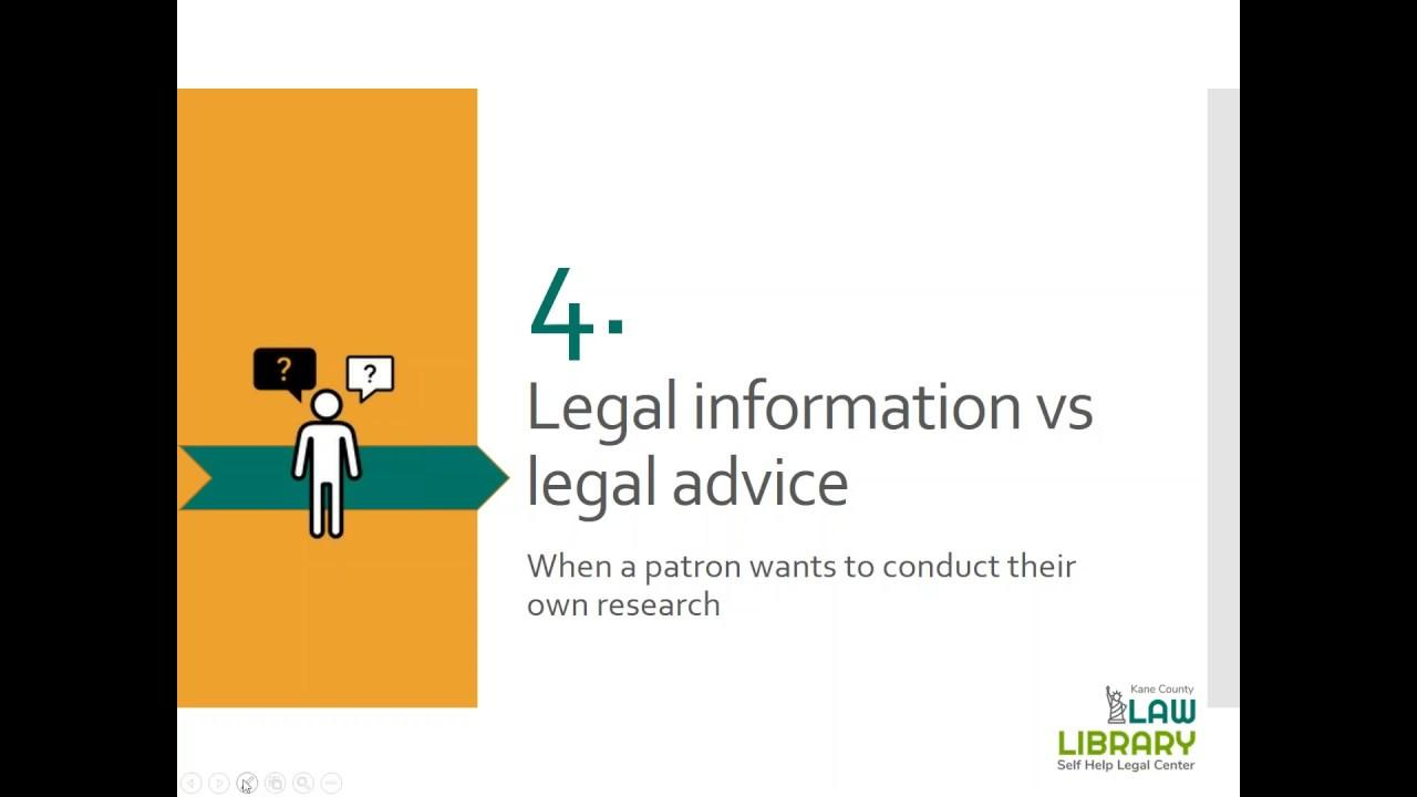 Don't Panic! It's only the law...Resources for Patron Legal Queries