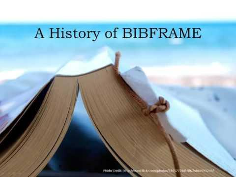 Beyond MARC: BIBFRAME and the Future of Bibliographic Data